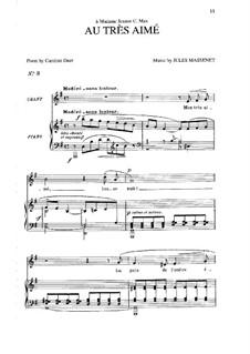Au très aimé: Au très aimé by Jules Massenet