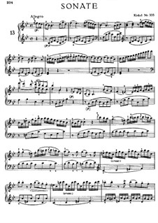 Sonata for Piano No.13 in B Flat Major, K.333: For a single performer by Wolfgang Amadeus Mozart