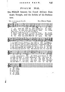 Improved Psalmody in Three Parts, No.42-75 : Medium voice part by Georg Friedrich Händel, John Stafford Smith, Philip Hayes, Samuel Webbe, John Wall Callcott, William de Chair Tattersall