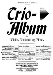 No.10 October (Autumn Song): para trio de pianos by Pyotr Tchaikovsky