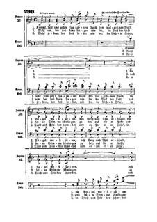 Komm lasst uns gehen: Komm lasst uns gehen by Felix Mendelssohn-Bartholdy