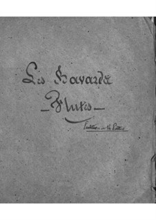 Les bavards (The Chatterbox): parte flauta by Jacques Offenbach