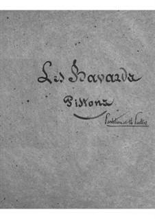 Les bavards (The Chatterbox): parte cornetas by Jacques Offenbach