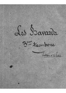 Les bavards (The Chatterbox): Parte de trombone III by Jacques Offenbach