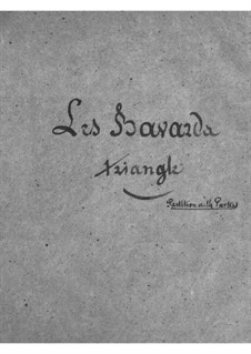Les bavards (The Chatterbox): parte triangulo by Jacques Offenbach