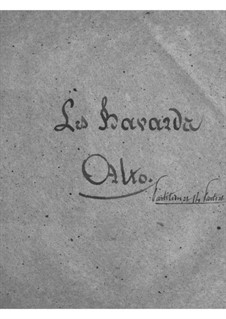 Les bavards (The Chatterbox): parte violas by Jacques Offenbach