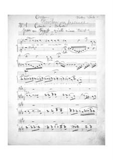 Complete Opera: violino parte solo by Jacques Offenbach