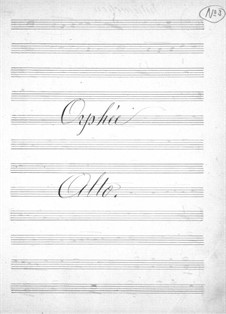 Complete Opera: parte violas by Jacques Offenbach