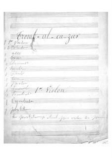 Tromb-al-ca-zar: violino parte I by Jacques Offenbach