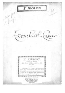 Tromb-al-ca-zar: violino parte II by Jacques Offenbach