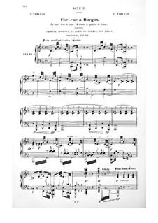 Le Cid: Ato II. Arranjo para vozes e piano by Jules Massenet