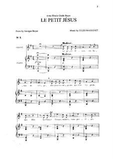 Le petit Jésus: em E menor by Jules Massenet