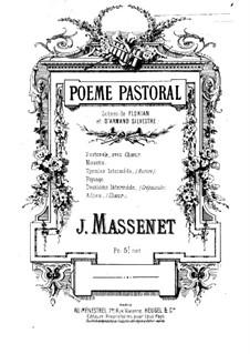 Poème pastoral: Poème pastoral by Jules Massenet