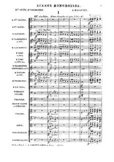 Scènes hongroises. Suite No.2: Scènes hongroises. Suite No.2 by Jules Massenet