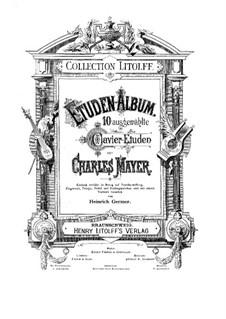 Selected Etudes: estudos selecionados by Charles Mayer