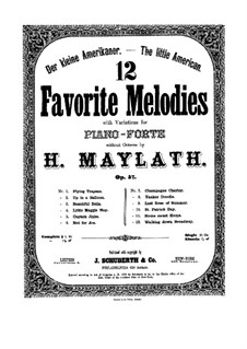 Twelve Favorite Melodies: set completo by Henry Maylath