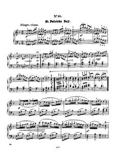 Twelve Favorite Melodies: No.10 St. Patricks day by Henry Maylath