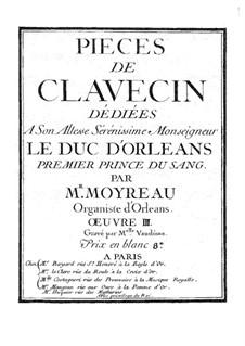 Harpsichord Works III: Harpsichord Works III by Christophe Moyreau