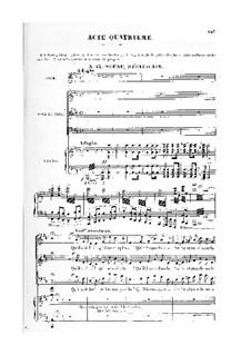 Le roi de Lahore (The King of Lahore): Acto IV. Arranjos para vozes e piano by Jules Massenet