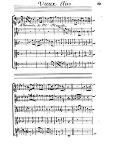 Allemande for Strings in G Major: Allemande for Strings in G Major by Michel Mazuel