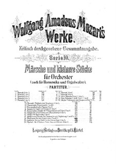 March in D Major, K.189: March in D Major by Wolfgang Amadeus Mozart