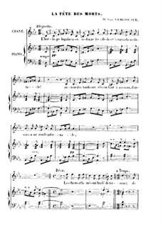 La fète des morts: La fète des morts by Franz Schubert