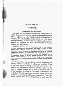 Principles of Orchestration: Chapter III by Nikolai Rimsky-Korsakov