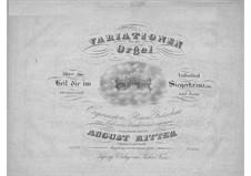 Variations for Organ: Variations for Organ by August Gottfried Ritter