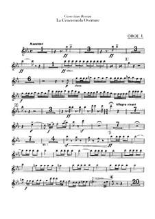 La Cenerentola (Cinderella): abertura - Oboes Parte by Gioacchino Rossini