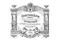 Tancredi: Overture, para piano para quatro mãos by Gioacchino Rossini