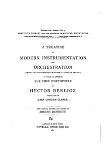 Grand Treatise on Instrumentation and Modern Orchestration, Op.10: Texto em inglês by Hector Berlioz