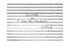 Quintet for Horn and Strings: partitura completa by Charles Gounod