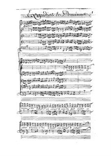 Exaudiat te Dominus, LWV 77/15: Exaudiat te Dominus by Jean-Baptiste Lully