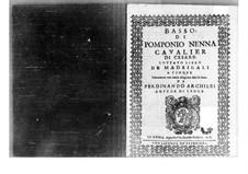 Madrigals: parte baixo by Pomponio Nenna
