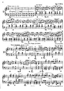 Mazurkas, Op.7 No.5, Op.17 No.1: Mazurkas by Frédéric Chopin