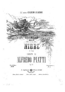 Capriccio on Theme from 'Niobe' by G. Pacini for Cello, Op.22: Capriccio on Theme from 'Niobe' by G. Pacini for Cello by Carlo Alfredo Piatti