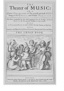 The Theater of Music, Book III: The Theater of Music, Book III by Henry Purcell, Robert King