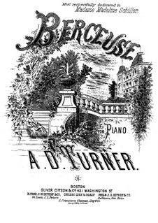 Berceuse: Berceuse by Alfred Dudley Turner