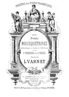 Les petits mousquetaires: Les petits mousquetaires by Louis Varney