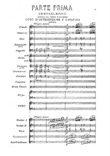Fragments: ato I by Giuseppe Verdi