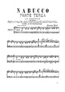 Fragments: Ato III by Giuseppe Verdi