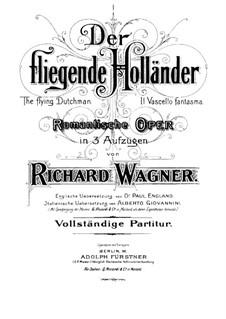 Fragments: abertura by Richard Wagner