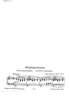 Noli me tangere, Op.87: No.2 A Festive Morning by Erkki Melartin