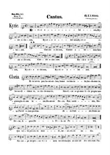 Mass : parte soprano by Tomás Luis de Victoria