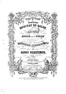 Six Salon Pieces, Op.22: No.3 Rêverie by Henri Vieuxtemps