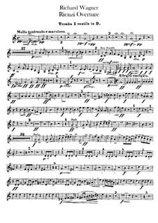Rienzi, the Last of the Tribunes, WWV 49: abertura - parte para trompetas by Richard Wagner