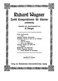 Rienzi, the Last of the Tribunes, WWV 49: Friedensmarsch, for piano by Richard Wagner