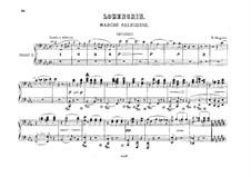 Religious March: para dois pianos para oito mãos - piano parte II by Richard Wagner