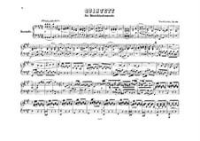 String Quintet No.1 in A Major, Op.18: versão para piano de quatro mãos by Felix Mendelssohn-Bartholdy