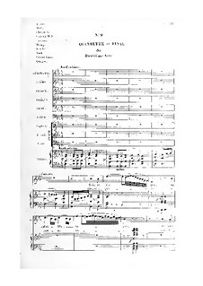 Semiramide: No.9-15, for soloists, choir and piano by Gioacchino Rossini